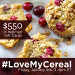 RSVP for the #LoveMyCereal Twitter Party