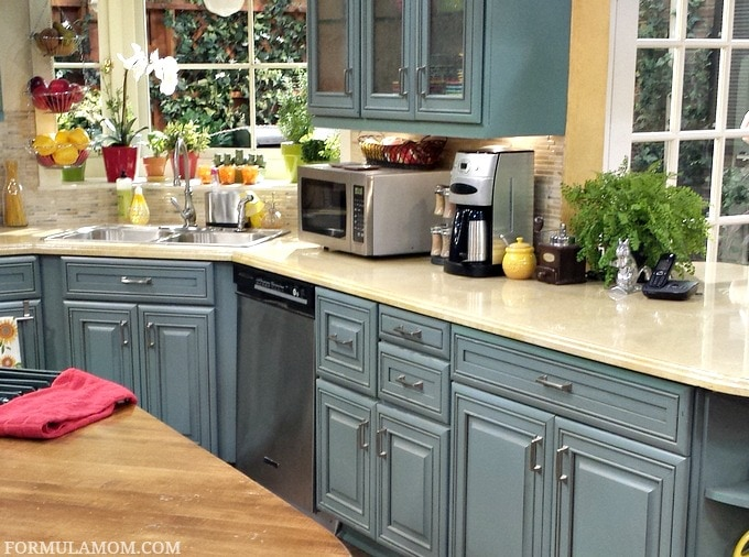 Going home with melissa joey abcfamilyevent melissaandjoey Kitchen colour schemes 2015