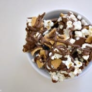 Smores Popcorn Bark Recipe