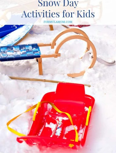 Snow Day Activities and Ideas for Kids #snowday #winter
