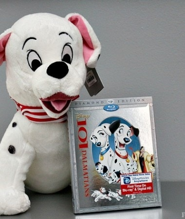 101 Dalmatians is now available on Blu-Ray! Bring home this Disney classic! #101Dalmatians