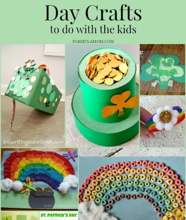 13 St Patricks Day Crafts to Do With Your Kids