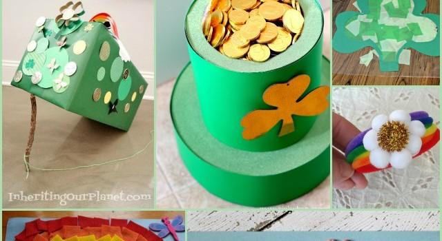 13 St Patricks Day Crafts for Kids!