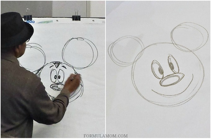 Learning to Draw Mickey with a Disney Animator!