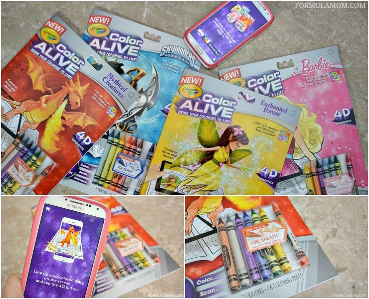 bring your coloring to life with crayola color alive