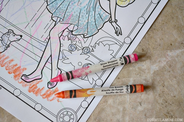 Experiencing crayola color alive ad coloralive for Crayola color alive coloring pages