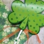Shamrock Crafts for Kids: Leprechaun Wands