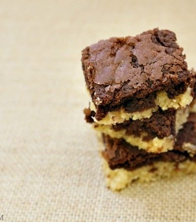 Make Sugar Cookie Brownies and snag one before they're gone!