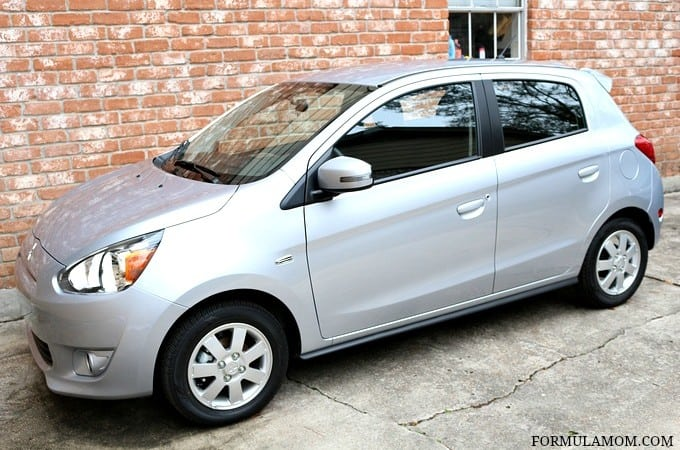 Zipping Around in the Mitsubishi Mirage