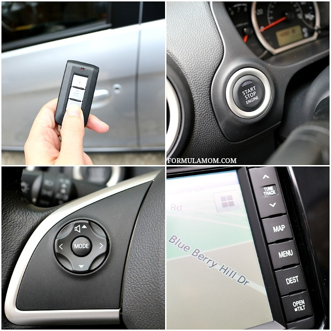 Some of our favorite features of the Mitsubishi Mirage