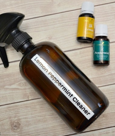Make this DIY Essential Oil Cleaner for healthier living and a chemical-free home!