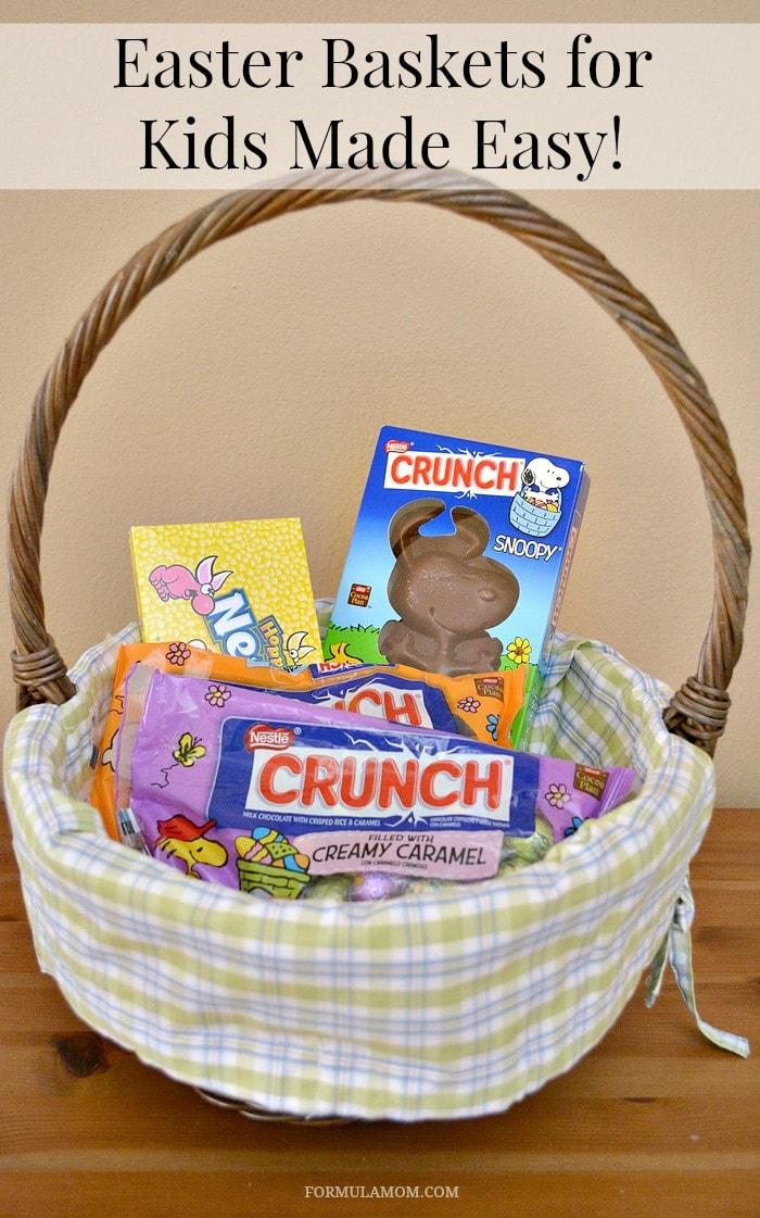 Filled Easter Baskets Easter Baskets For Kids Made