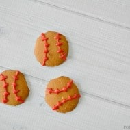 Easy Baseball Cookies