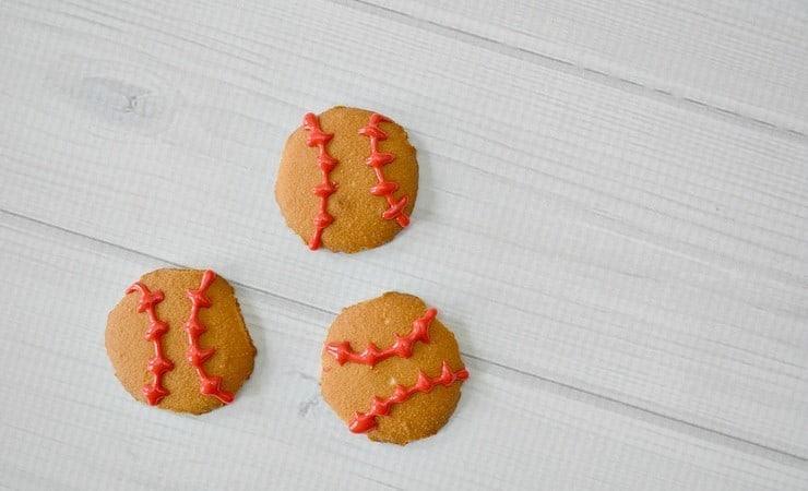 Easy Baseball Cookies