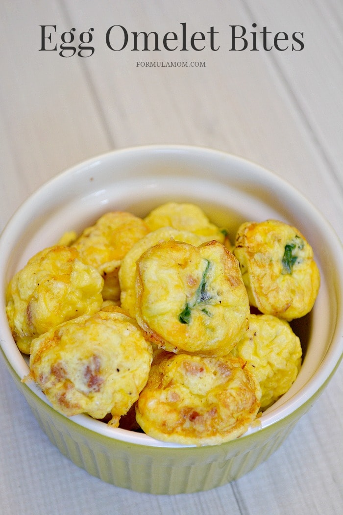If you're looking for easy breakfast ideas, try making Egg Omelet Bites for a fun twist on scrambled eggs! It's easier than learning how to make egg omelets!