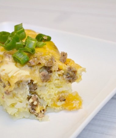 Enjoy Slow Cooker Breakfast Casserole for Dinner with Your Family!