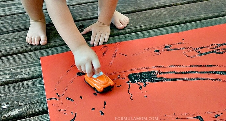 Hands-On Spring Break Activities for Kids: Painting #EverydayCare