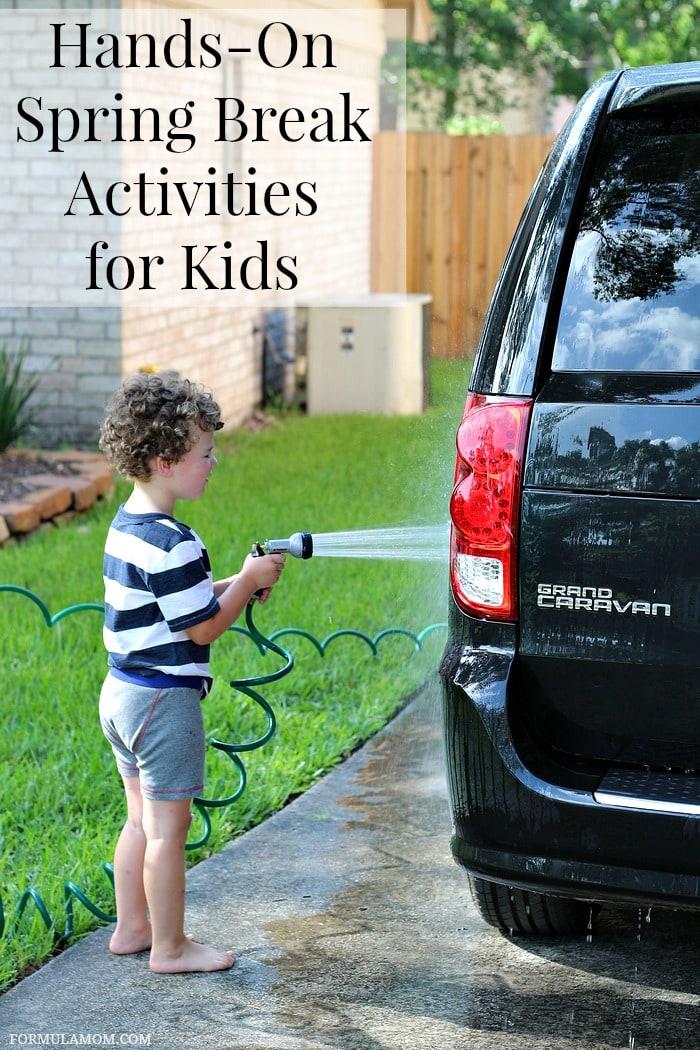 Hands-On Spring Break Activities for Kids #EveryDayCare