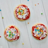 Sugar Cookie Pizza Cookies