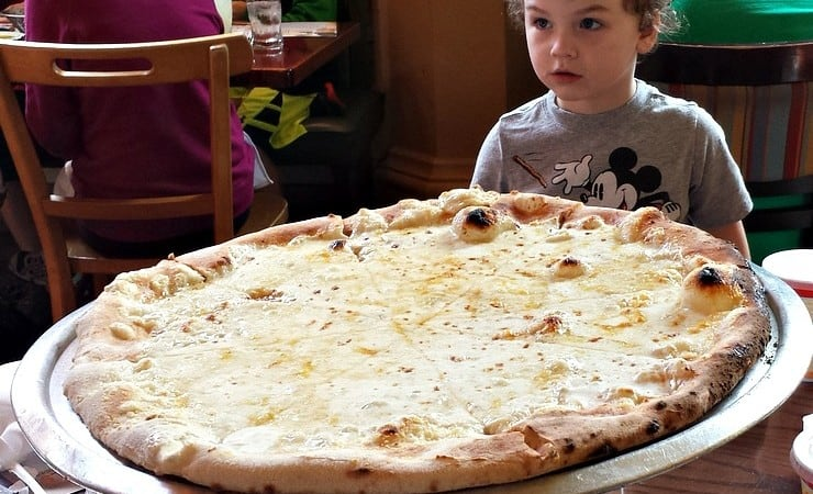 Via Napoli Lunch at Disney is Great for Families