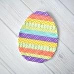 Washi Tape Easter Egg Craft