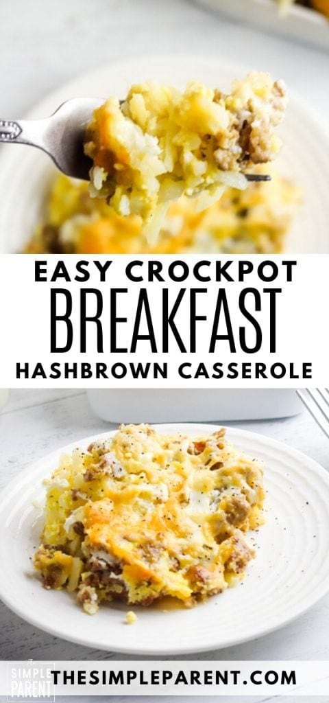 Easy Crockpot Breakfast Bake