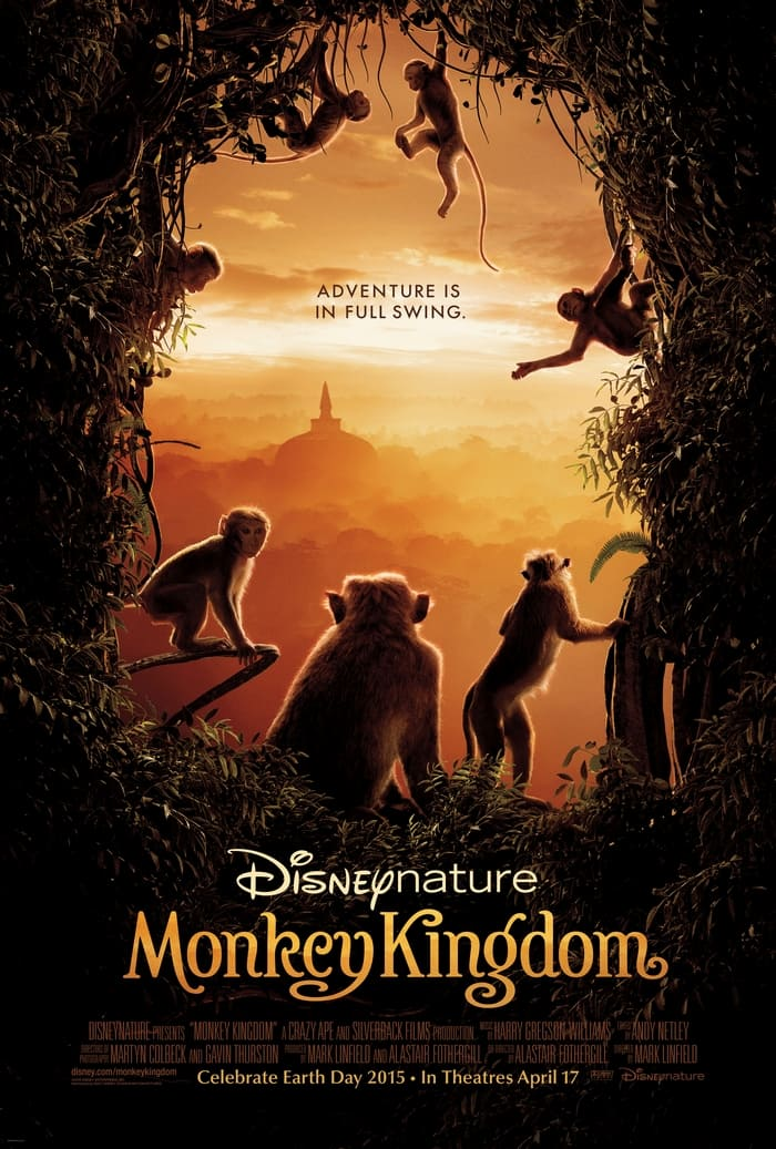 Disneynature's Monkey Kingdom Family hits theaters on April 17th! #Disney #MonkeyKingdom
