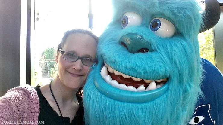 Check out the familiar faces I ran into on my exclusive Pixar Studios tour!