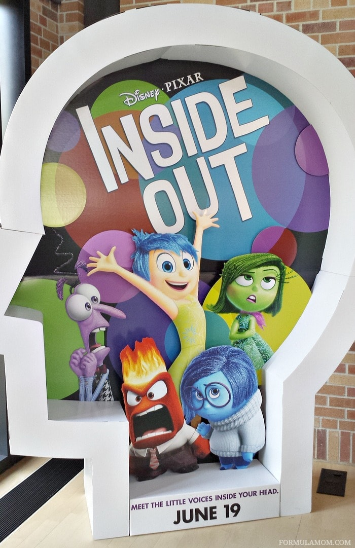 I took an exclusive Pixar Studios tour as part of my press day for Disney/Pixar's Inside Out!