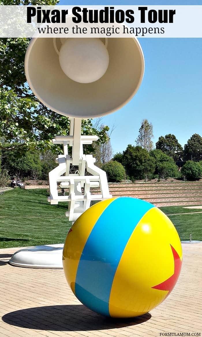 Take an exclusive Pixar Studios tour with me and explore where DIsney/Pixar magic all happens!