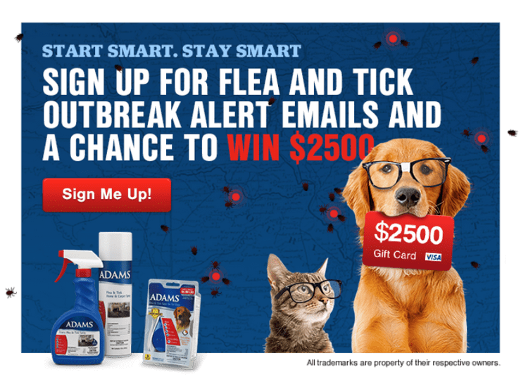 Enter for the chance to win weekly gift cards with the Adams Start Smart/Stay Smart Sweepstakes!