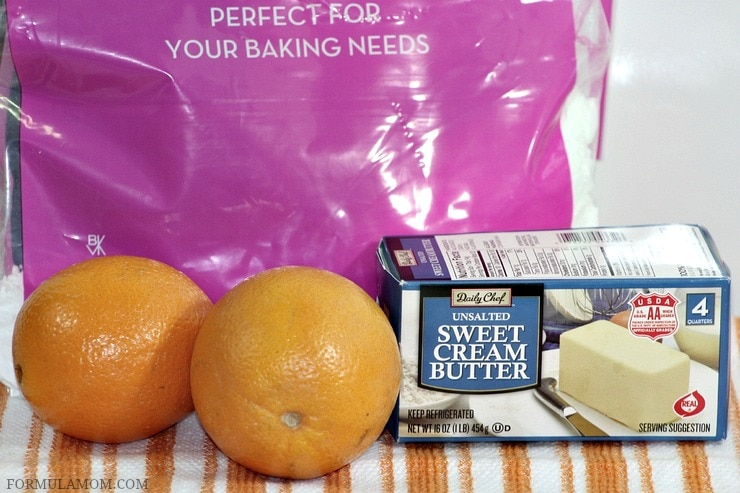 Check out what you need to make Orange Buttercream frosting!