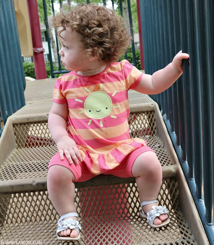 Gymboree clothes are great for mixing and matching before you head to playdates or playgrounds!