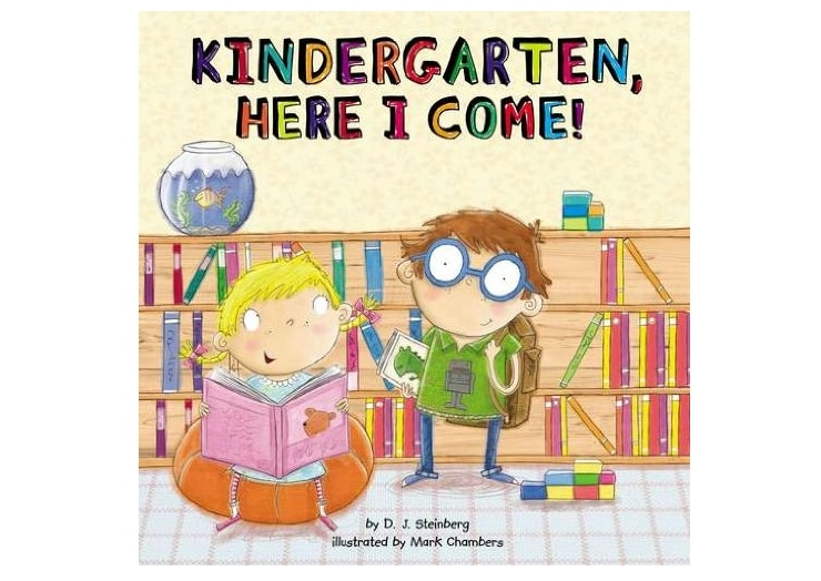 Help kids transitioning from preschool to kindergarten by reading books about it! It helps prepare them and reduce anxiety over the new experience!
