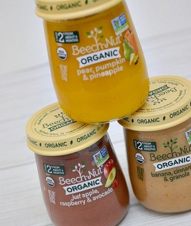When it comes to baby feeding must haves, baby food that you trust and believe in is most important!