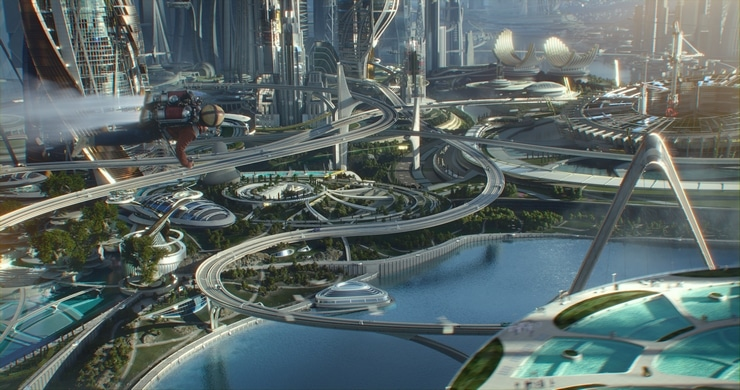 Check out Disney's Tomorrowland in theaters on May 22nd!