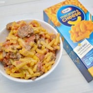 Easy Hamburger Macaroni and Cheese Recipe