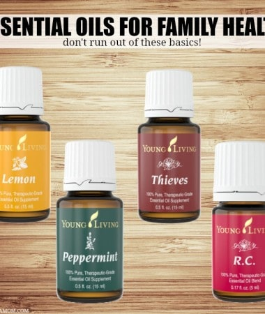 Check out some of our favorite Essential Oils for Family Health! We always keep these essential oils stocked around our house!