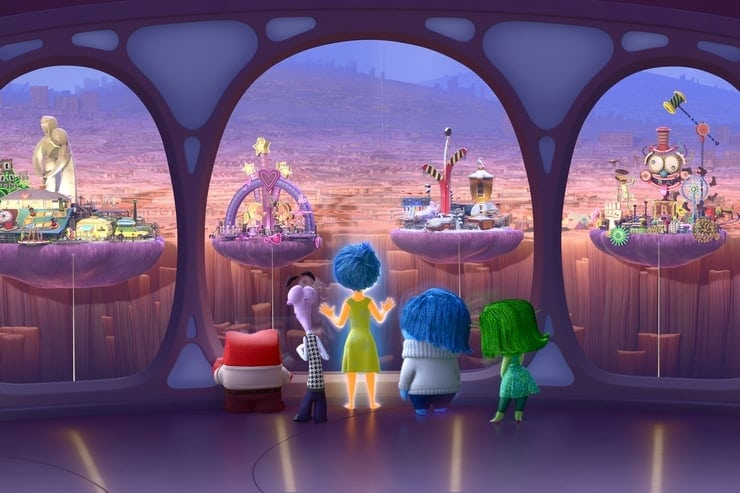Going inside the mind and into the world of Disney/Pixer's Inside Out!