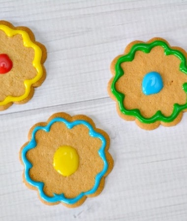 Have fun with the kids by making these easy no bake flower cookies! These no bake cookies will also give your kids a chance to be creative and make their own sweet treats!