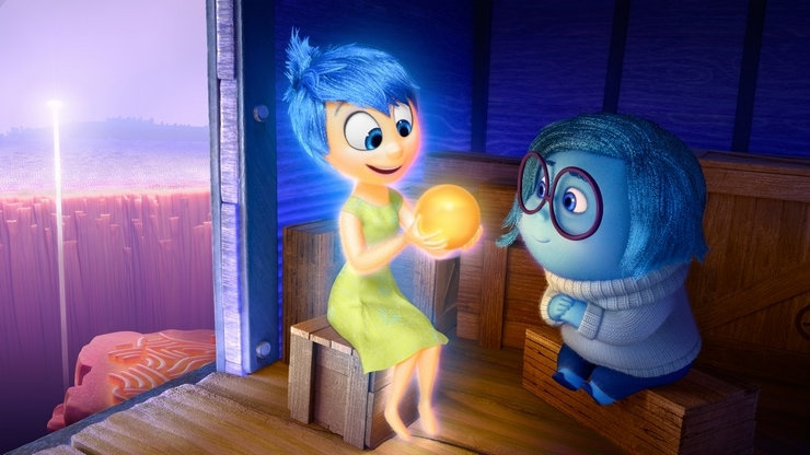 Setting the Stage for Pixar's Inside Out: Lighting Joy #InsideOutEvent