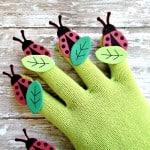 Spring Ladybug Craft for Kids (with poem!)