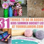 Summer Bucket List for Kids: 31 Things to Do in August