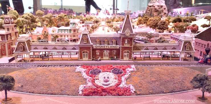 Walt's vision of Disneyland! Check it out when you visit the Walt Disney Family Museum!