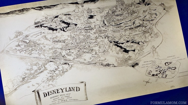 The creation of Disneyland was one of my favorite parts of visiting the Walt Disney Family Museum!