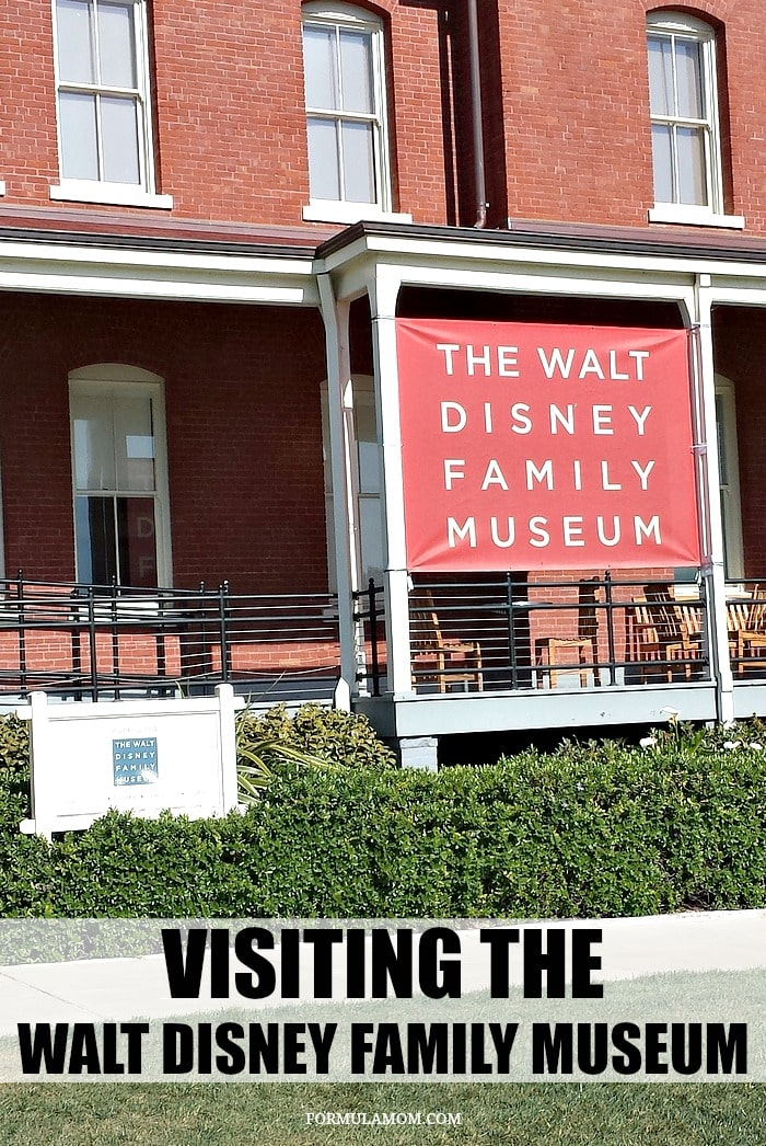 Visiting the Walt Disney Family Museum is definitely something to be sure to do when visiting San Francisco, California!