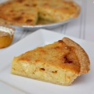 Easy Sea Salt Caramel Cupcake Pie