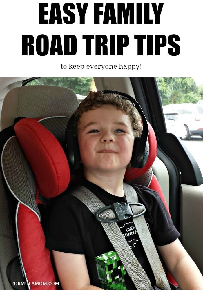 Make your next family road trip easier with these simple tips!