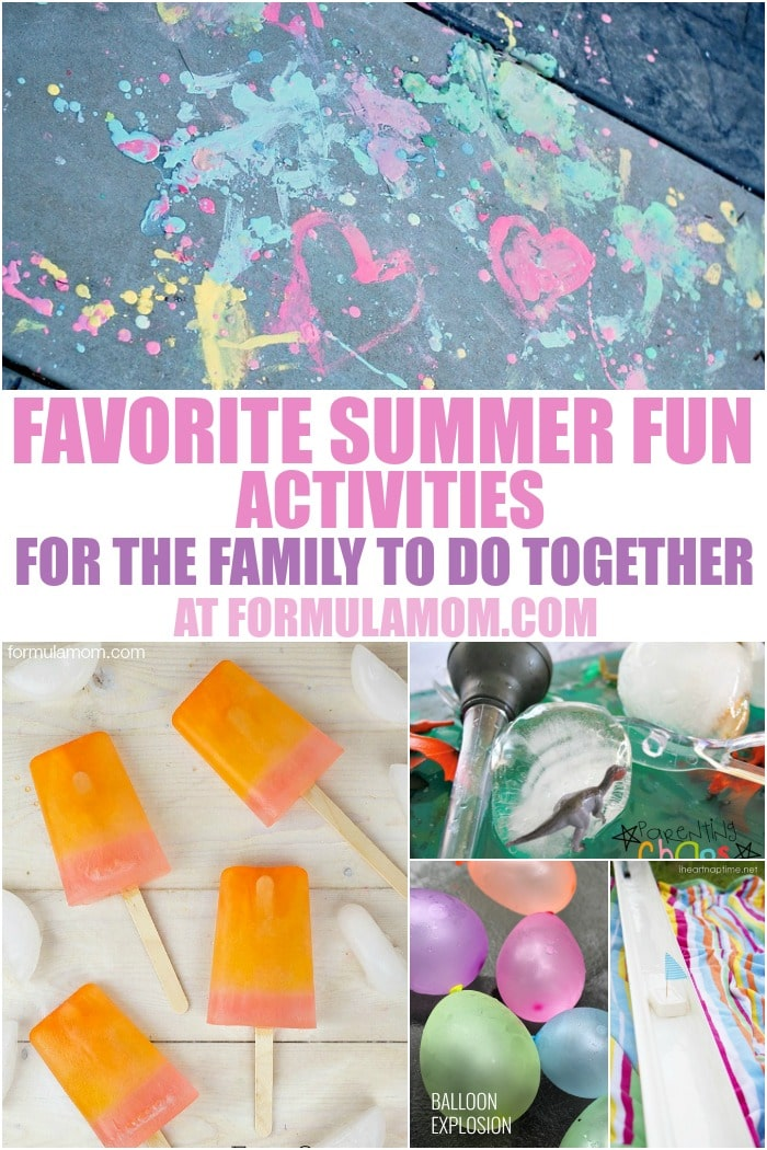 We love spending time together as a family and during the summer there are tons of fun things to do together! Check out some of our favorite summer family fun activities!