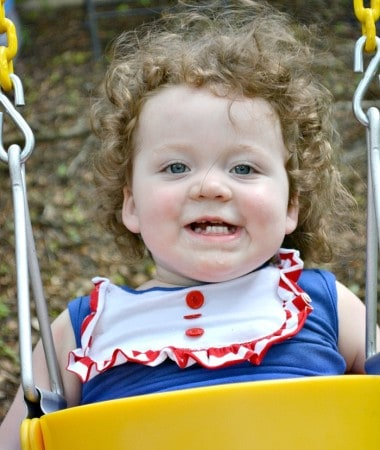 Getting active with the grandkids doesn't have to be challenging! Try these easy activities for kids like walking, gardening, and others! Swinging on the swings is one of our favorites!